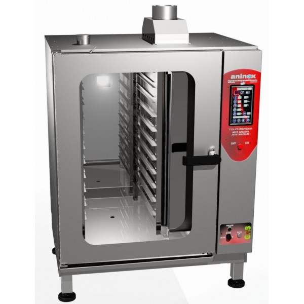 TOUCH SCREEN GAS COMBI-STEAM OVEN