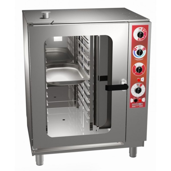 ELECTROMECHANICAL ELECTRIC COMBI-STEAM OVEN