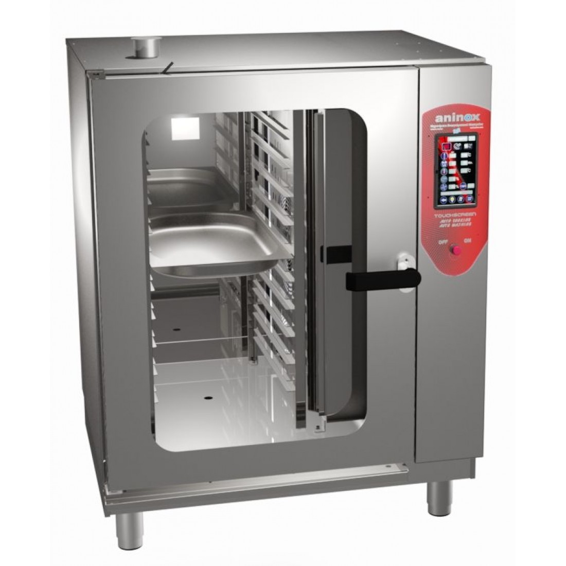 TOUCH SCREEN ELECTRIC COMBI-STEAM OVEN