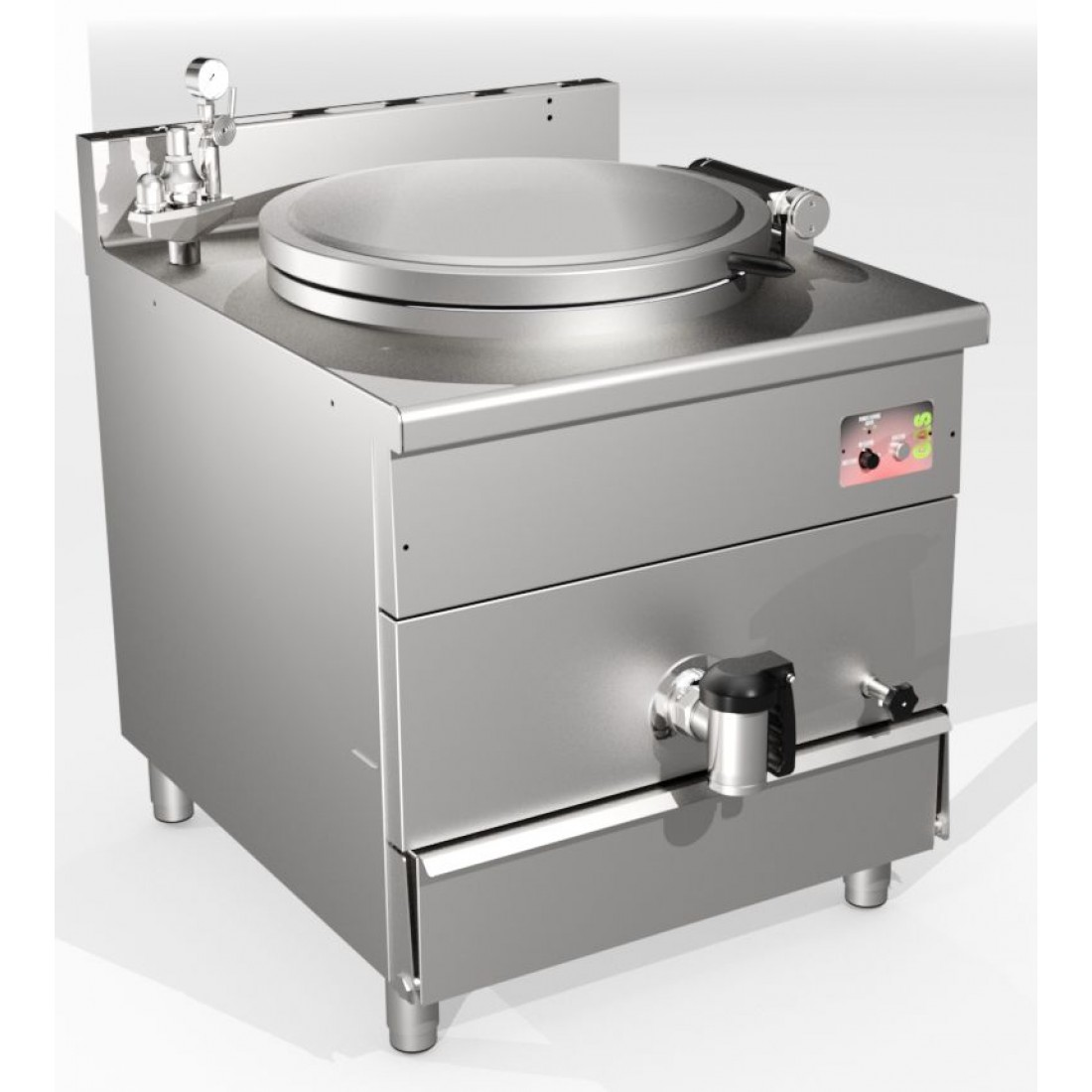 INDIRECT HEATING GAS BOILING PANS